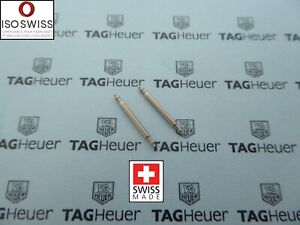 Top Quality ISO Swiss Made S/S Spring Bars for Tag Heuer 12-24mm Ø1.5mm Ø1.8mm