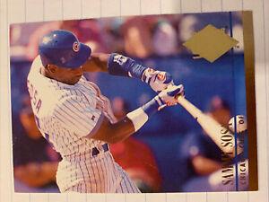 Sammy Sosa #464 1994 Fleer Ultra Baseball Card, Chicago Cubs