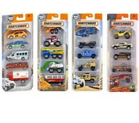 MATTEL MATCHBOX 5 PACK THEMED VEHICLES Car Assortment Hot Wheels C1817