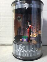 HARLEY QUINN MINIATURE STATUE Figure 1999 BATMAN Animated WARNER BROS. STORE