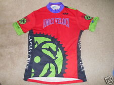 VOLER AMICI VELOCI CYCLING JERSEY SIZE XL  Beautiful Condition.!  MADE IN USA..!