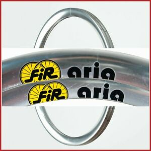 "NOS FIR ARIA CLINCHER RIMS 28"" 18h HOLES 90s VINTAGE TIME TRIAL CRONO AERO HIGH"