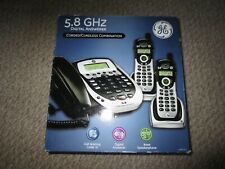 GE 25881EE3 Corded/Cordless Answering System - 3 Phones - NIB!!!
