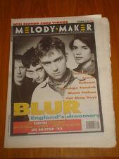 MELODY MAKER 1993 SEP 25 BLUR RADIOHEAD JAMES D:REAM