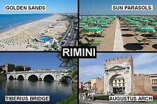 SOUVENIR FRIDGE MAGNET of RIMINI ITALY