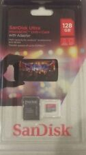 FACTORY SEALED SANDISK ULTRA 128GB MICRO SDXC UHS-L CARD WITH ADAPTER 100MB/S !!