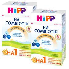2x 600 g Hipp début lait Ha 1 COMBIOTIK de naissance Lait Hypoallergénique