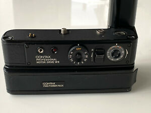 Contax Proffesional Motor Drive W6 and Battery Pack - RARE - Porsche Design