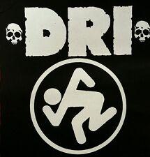 DRI PUNK ROCK BLACK CANVAS BACK PATCH