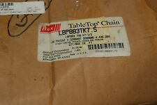 """Rexnord Lbp883Tk-7.5, MatTop Chain, 7-1/2"""" wide x 10' long, Tab-K, New in Box"""