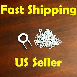 WHITE MECHANICAL GAMING KEYBOARD O-RING SWITCH DAMPERS 110pcs Cherry