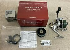 Shimano Aero 2500 FA Spinning Reel with Spare Spool and Original Box and Papers