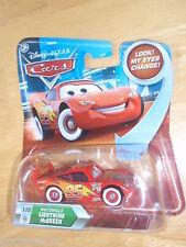 2010 Disney Pixar Cars Lenticular Eyes #110 WHITEWALLS LIGHTNING MCQUEEN Skyline