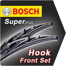 "24"" 16"" Front Bosch Super Plus Wiper Blades Retro Framed Style Windscreen Id72"