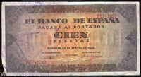 100 Pesetas 20 mayo 1938 Burgos  @ Bello @