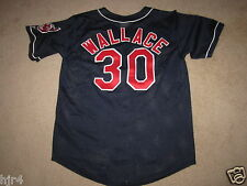 Wallace #30 Cleveland Indians Game Worn Jersey XL 48