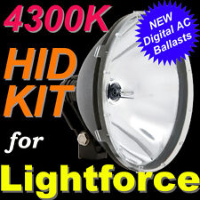 4300K 55W HID Kit for LIGHTFORCE 240 Blitz 170 Striker Spot Lights 4X4 4WD