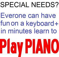 ADHD Autisme dyslexie Sen besoins spéciaux? tout peut faire de la musique avec VISUAL MUSIC.