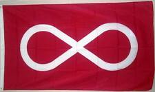 Metis Red Native 3ft x 5ft Flag Polyester  90cm x 150cm $11.99 (New in Package)