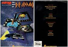 "DEF LEPPARD ""The Best Of"" (PARTITIONS / SHEET MUSIC) 1993"