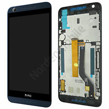 HTC Desire 626G Dual Sim Komplettes LCD Display Touchscreen Schwarz + Rahmen