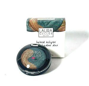 Laura Geller Eyeshadow Baked Eclipse Eye Shadow Duo Bronze / Emerald
