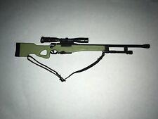 1/6 rifle sniper light green AWM British