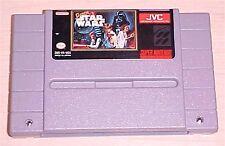 Super Star Wars 1 one Super Nintendo SNES Vintage original game cartridge