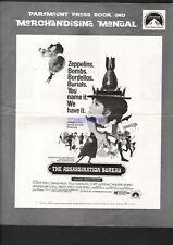 THE ASSASSINATION BUREAU 1968 PRESSBOOK DIANA RIGG OLIVER REED TELLY SAVALAS
