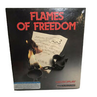 New Flames of Freedom PC game 5.25' disks Microplay Sealed