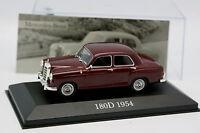 Ixo Presse 1/43 - Mercedes 180 D Rouge 1954