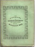 1843 - ABRUZZO ULTERIORE - DISCORSO NELL APERTURA DEL CONSIGLIO PROVINCIALE