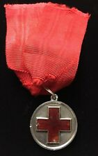 Russian Imperial Silver Medal of Red Cross Original ORDER