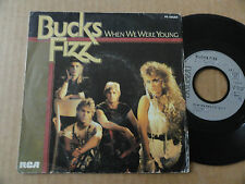 "DISQUE 45T DE BUCKS FIZZ "" WHEN WE WERE YOUNG """