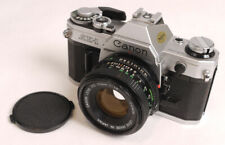 Canon AE-1 w/50mm F1.8 NewFD Lens - SuperClean Set - Works Perfectly
