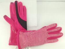 Women's ISOTONER Brand Pink Winter Gloves - 1 size - $42 MSRP - 25% off