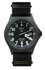 MWC G10 100m PVD Stealth Quartz Military Watch with Screw Down Crown & Case Back
