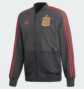 Adidas SPAIN Presentation Track Top jacket, CE8839 grey FEF PRE JKT 2018