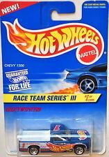 HOT WHEELS 1996 RACE TEAM SERIES III CHEVY 1500 #2/4 BLUE