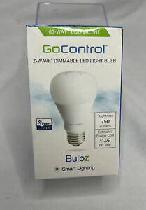 LINEARLINC BULBZ SECURITY LINEAR LB60Z-1 Z-WAVE DIMMABLE LED LIGHT BULB