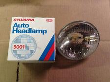 NOS NEW Sylvania 5001 Sealed Beam HI Low Headlight Bulb 58 59 60 61 62 Corvette