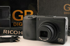 【 Mint 】 Ricoh Gr Digital II 10MP Kamera Schwarz Körper + Band Box Aus Japan
