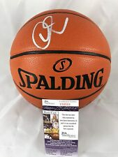 DEMAR DEROZAN signed Basketball NBA Game Ball Series JSA Authentication