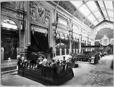 Photo. 1889. Paris World Exhibition - Austria-Hungary exhibition