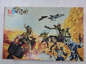 NEW UNOPENED  Vintage Gi Joe Puzzles Battle 60 piece.
