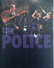 The Police ~ 2007-8 Reunion Tour Program Wrigley Field