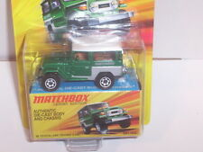 MATCHBOX 1968 TOYOTA LAND CRUISER FJ40 LESNEY EDITION DIECAST NEW IN PACKAGE