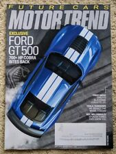 MOTOR TREND Magazine FORD GT500 Tesla Model 3