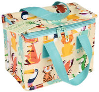 Eco Animal Design Woven Thermal Cool Bag Lunch Bag Box School/Leisure 14x20x15cm