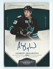 2010-11 Dominion  Andrew Desjardins 173/199  RC - Auto hard signed